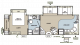 2011 Flagstaff Classic Super Lite 831FKBSS Floor Plan