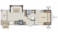 2018 Bullet 257RSS Floor Plan