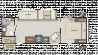 2019 Bullet 261RBS Floor Plan