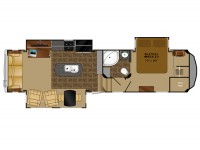2015 Bighorn 3270RS Floor Plan