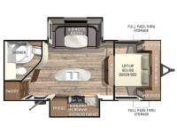 2015 Fun Finder 233RBS Floor Plan