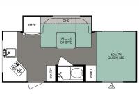 2015 R-Pod 179 Floor Plan