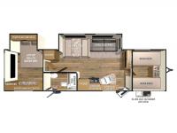 2015 Shadow Cruiser 312FBS Floor Plan