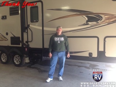 Arnold of Twin Lake, MI with their Freelander 32BH CHEVY