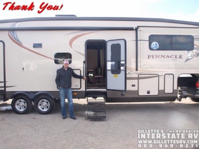 David of Wyoming with their Pinnacle 36FBTS