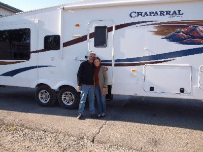 Gary of Davisburg with their Chaparral 360IBL