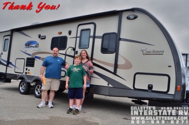 Gary of Middleberry with their Freedom Express 310BHDS