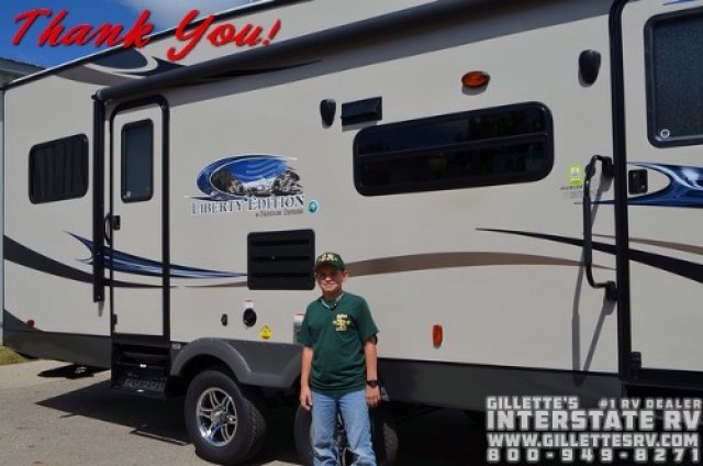 Gregory of Barboursville with their Freedom Express 23TQX