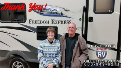 Joe of Louisburg with their Freedom Express 320BHDS