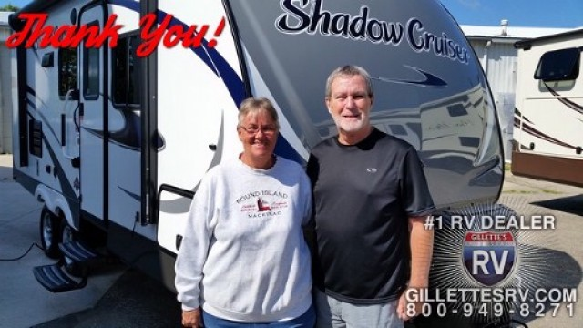Karen of Twin Lake, MI with their Shadow Cruiser 313BHS