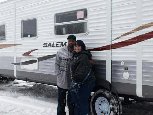 Chris of Sacramento, WI with their Salem 31BKIS