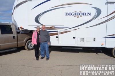 Teena of Brooklyn, FL with their Bighorn 3270RS