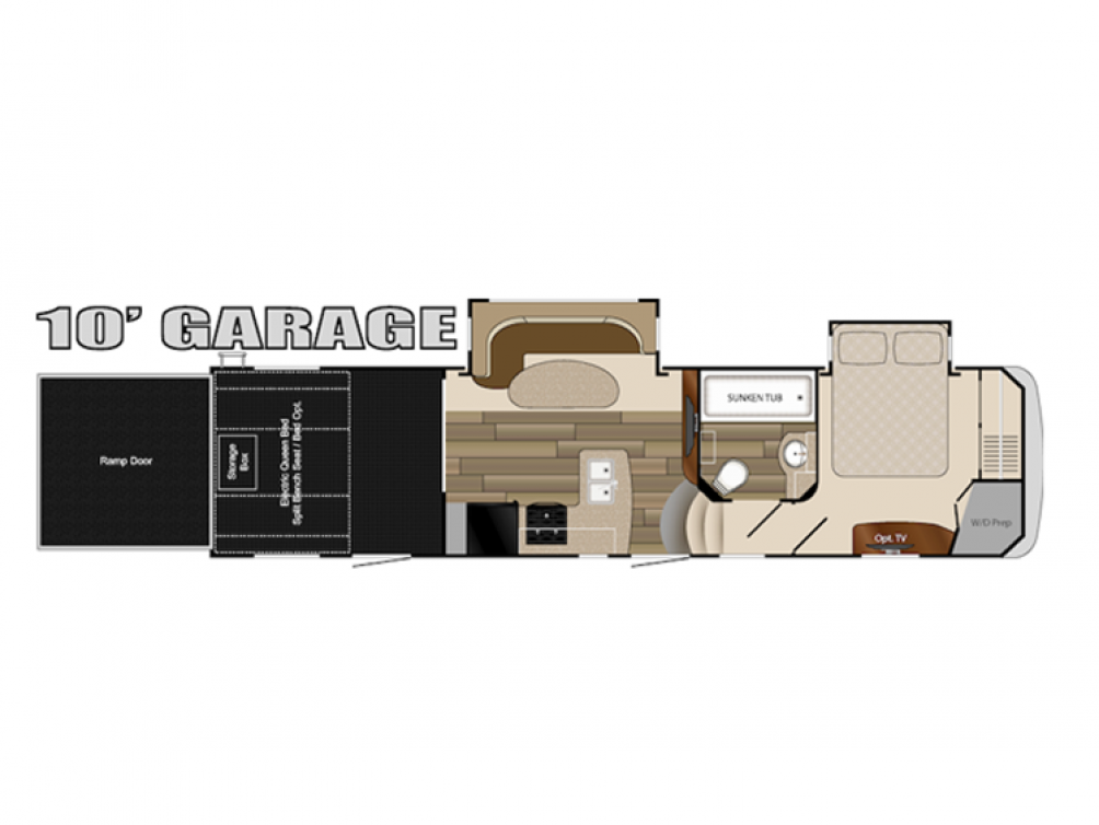 2010 Cyclone 3010 Floor Plan