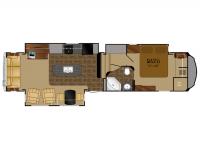 2011 Bighorn 3585RL Floor Plan