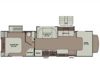 2015 Leprechaun 319DS FORD E45 Floor Plan
