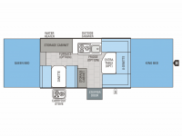 2013 Jay Series 1207 Floor Plan
