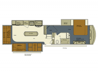 2015 Bay Hill 369RL Floor Plan