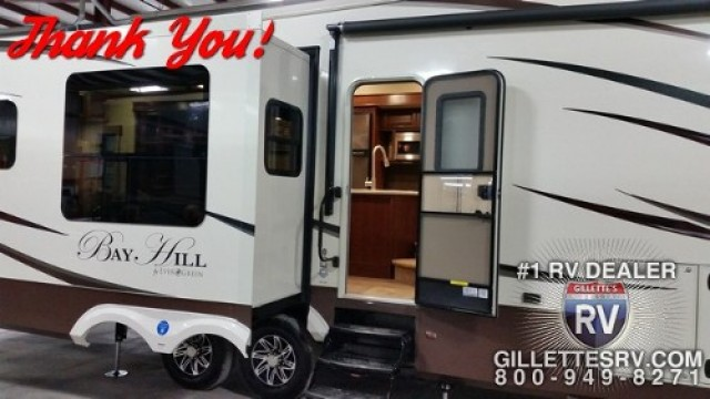 Allen of Winterset with their Bay Hill 310RE
