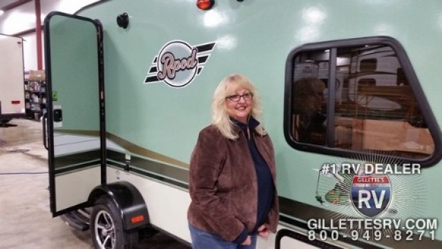 Brenda of Boise, AL with their R-Pod 172