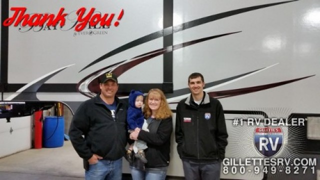 Gregg of East Leroy with their Bay Hill 369RL
