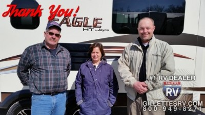 Nancy of Cobleskill with their Eagle HT 29.5BHDS