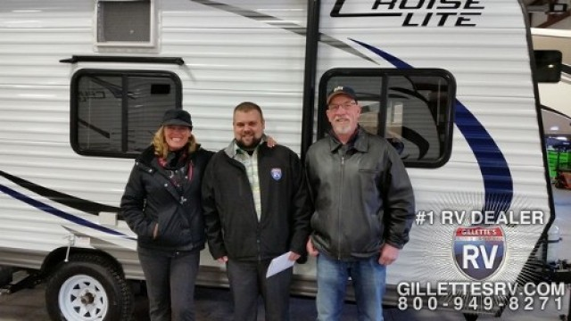 Richard of Alpena with their Salem Cruise Lite 261BHXL