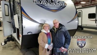 Sandra of Boise, AL with their Salem 31BKIS
