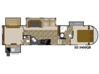 2013 Sundance 3400QB - 262477