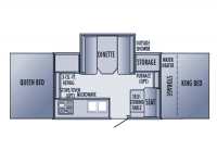 2005 Jay Series 12HW Floor Plan