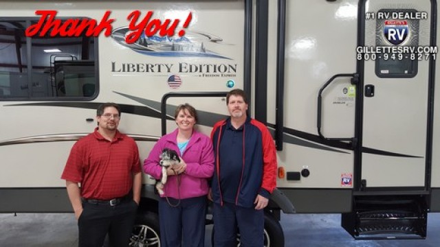Paul of Kimball with their Freedom Express Liberty Edition 293RLDS