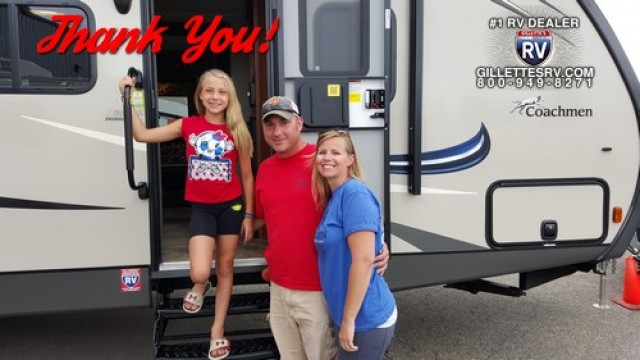 Tiffany of Palmer, TN with their Freedom Express Liberty Edition 292BHDS