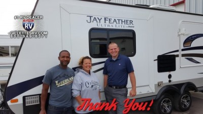 Heidi of Petersburg with their Jay Feather Ultra Lite X23F