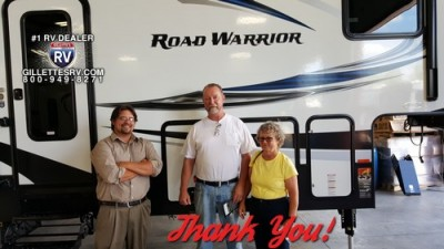 Jeffrey of Stanton, MI with their Road Warrior RW410