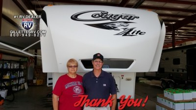William of Morrice, FL with their Cougar 27SAB