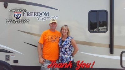 Mark of Meadville, PA with their Freedom Express 246RKS