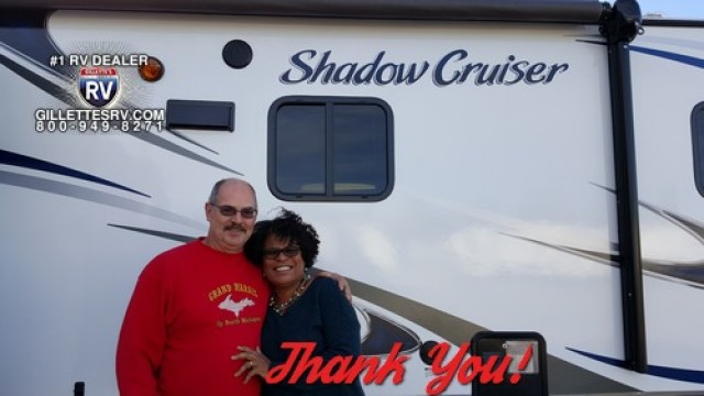 Anita of South San Francisco, WI with their Shadow Cruiser LE 225RBS