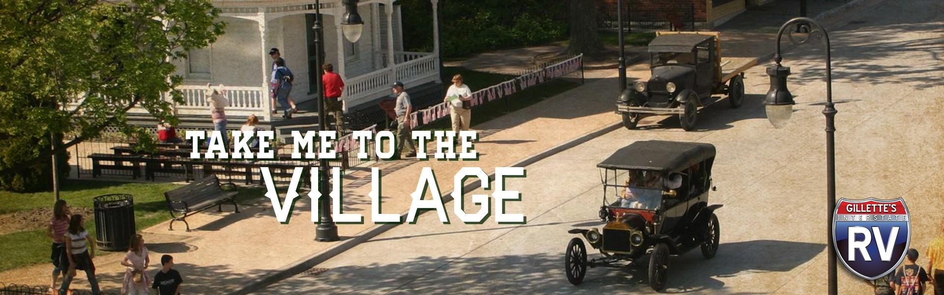 Take me to the village - People walking around Greenfield Village