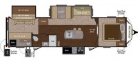 2015 Sprinter Limited 316BIK Floor Plan