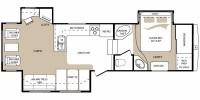 2009 Montana 305RLT Floor Plan