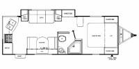 2012 Freedom Express 246RKS Floor Plan