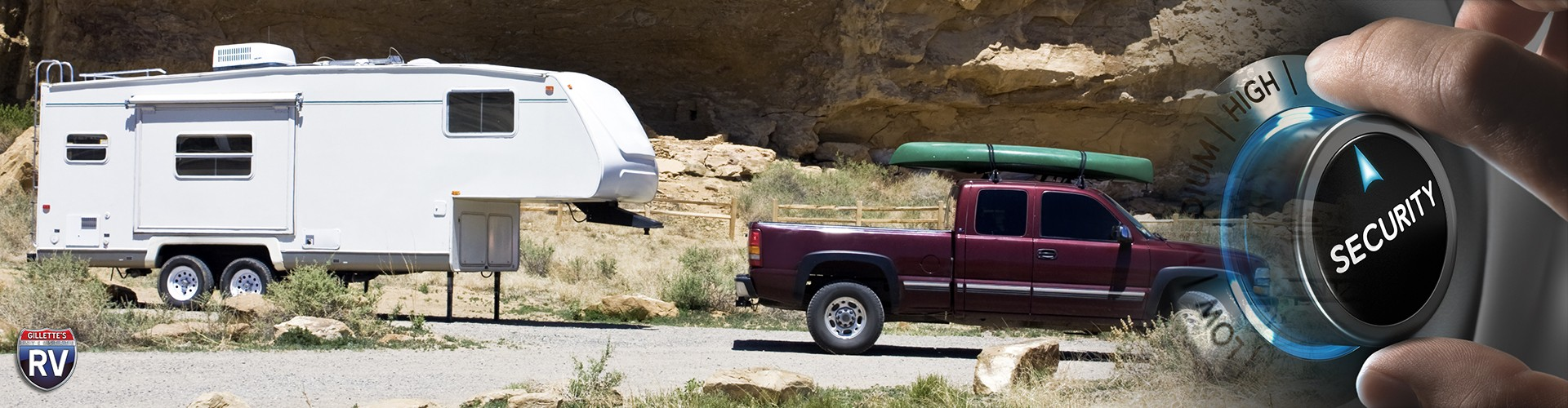 Camping rv security