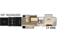 2015 Cyclone 4000 Floor Plan