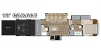 2017 Cyclone 4113 Floor Plan
