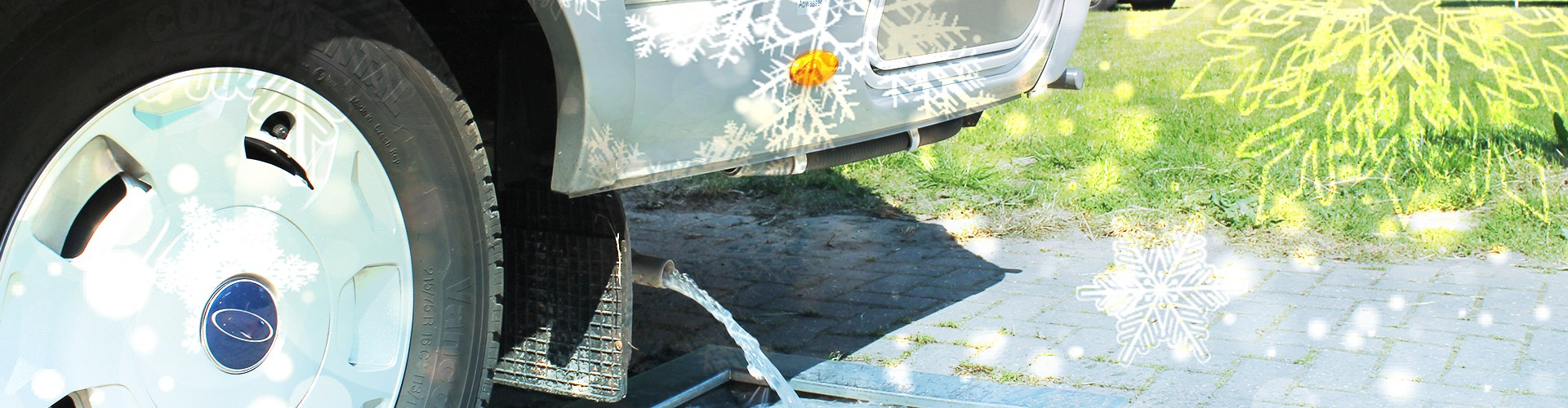 Prevent your RV holding tank from freezing