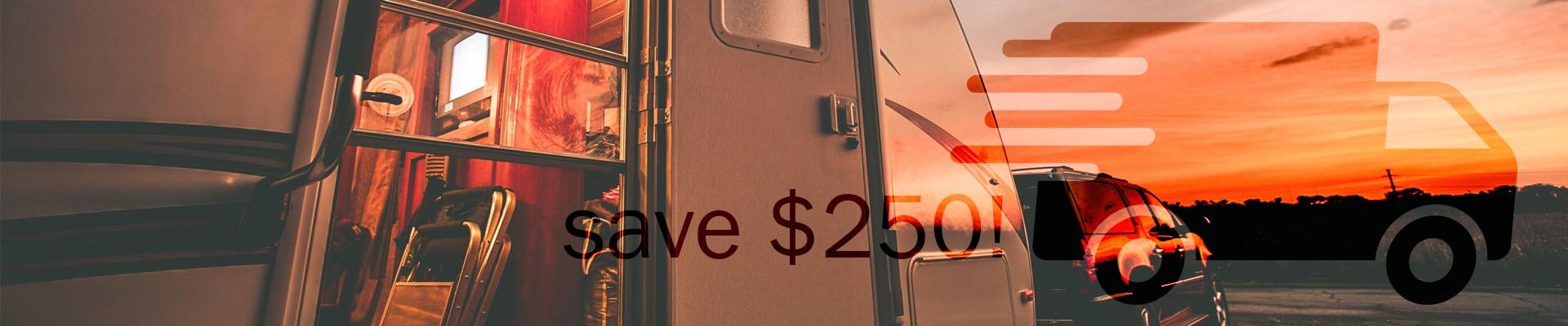 RV Ebay America Beautiful Sale Event savings delivery