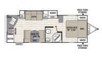 2018 Freedom Express 246RKS Floor Plan