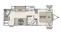 2019 Freedom Express 246RKS Floor Plan