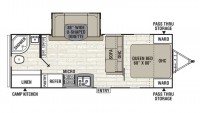 2018 Freedom Express 248RBS Floor Plan
