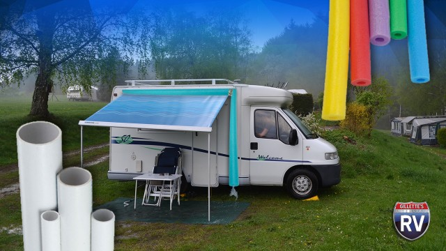 Diy RVing Make Your Own RV Gutters Fi