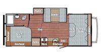2017 Conquest 6238 Floor Plan